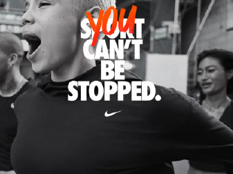 NIKE全新创意短片:You Can't Be Stopped