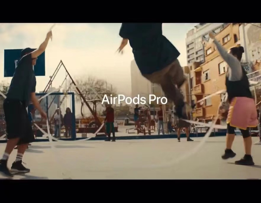 AirPods pro最新广告《JUMP》